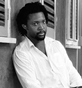 Marlon James. Photograph by Simon Levy, courtesy Akashic Books