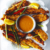 Fried fish fingers with mustard and mango sauce. Photograph courtesy Macmillan Caribbean