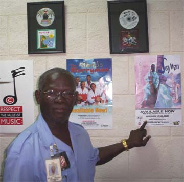 Barbadian saxophinist Seaman, whose music is distributed by the CRS label