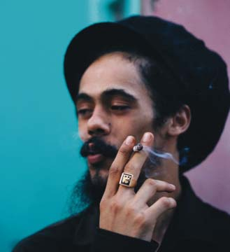 """Damian """"Jr Gong"""" Marley. Photograph by B+/courtesy Tuff Gong/Universal Records"""