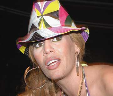 Ivy Queen. Photograph by Getty Images