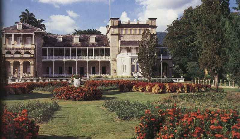 The President's House in Port of Spain. Photograph by Noel Norton