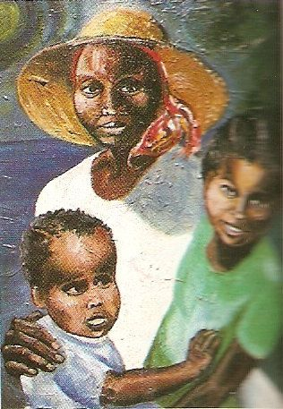 Honeychurch the painter has created religious murals for seven of Dominica's churches. Photograph courtesy Lennox Honychurch