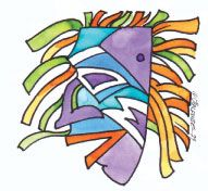 Carnival. Illustration as Russel Halfide
