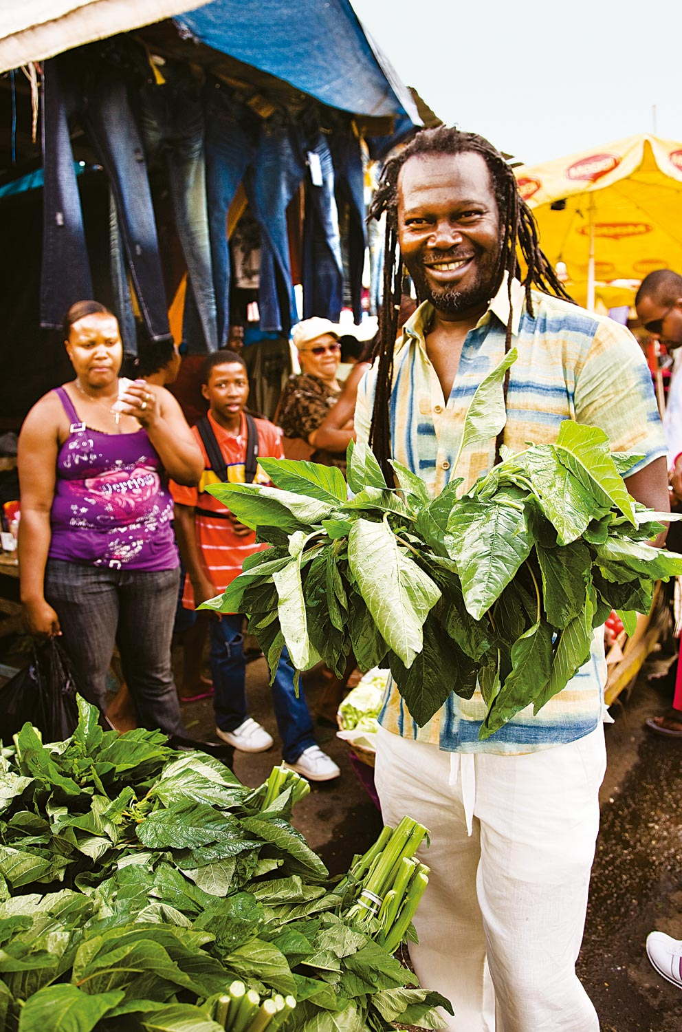 Photo taken from Caribbean Food Made Easy with Levi Roots. Photograph courtesy Octopus Publishing Group/ Chris Terry