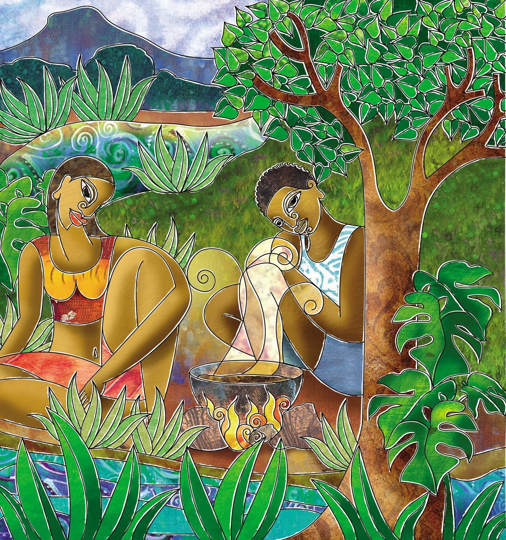 Duck treason. Illustration by Shalini Seereeram