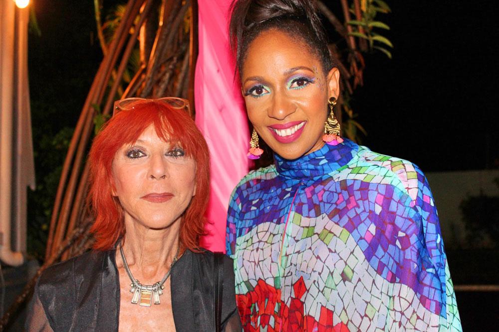 Dani Sanz and her protégé Neishel Pierron. Photo by Kristine De Abreu
