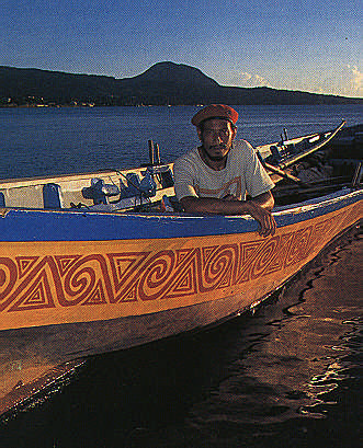 Dominican chief Frederick Jacobs. Photograph by Sean Drakes