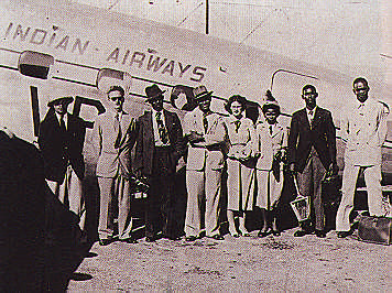 1948, first students from the Eastern Caribbean arrive in Jamaica. Photograph by UWI