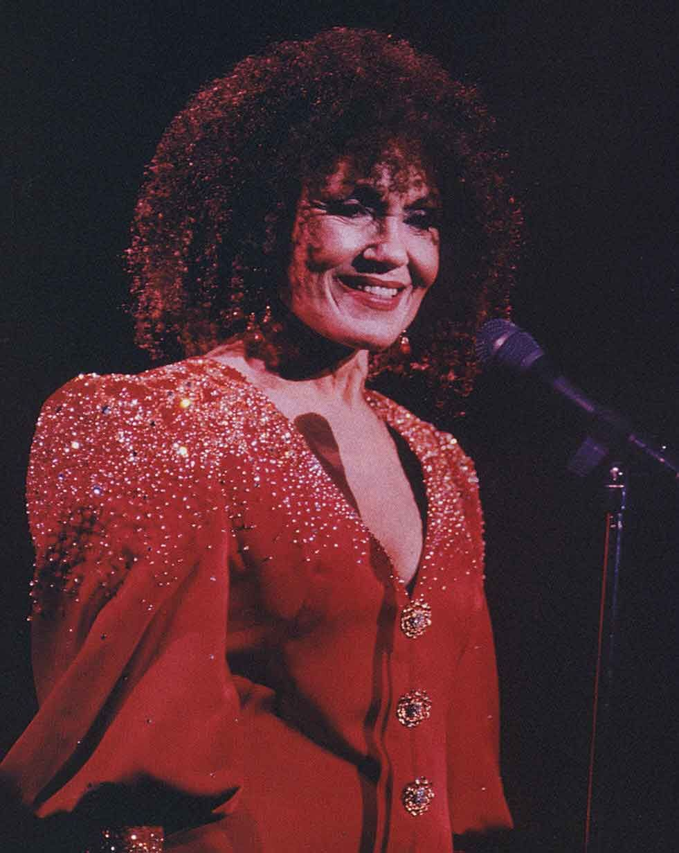 Cleo Laine: her big breakthrough came when she was signed up as head singer with the John Dankworth band. Photograph by Redferns