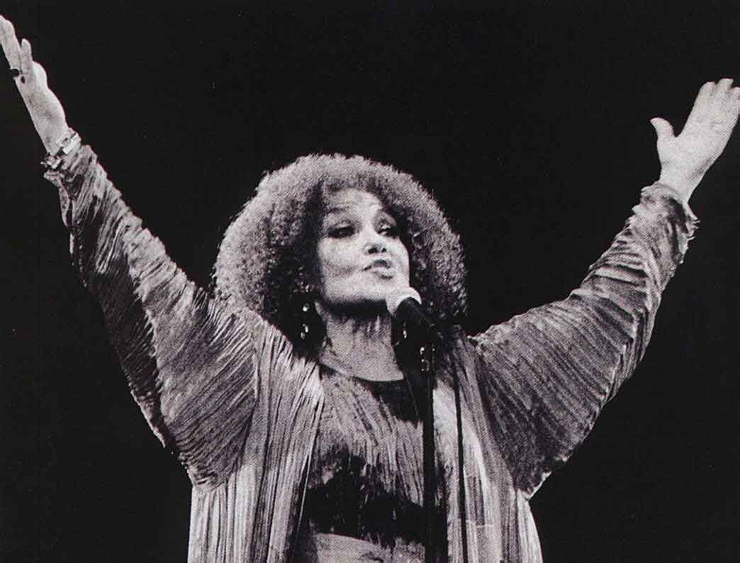 Cleo Laine. Photograph by Stefon Samuels