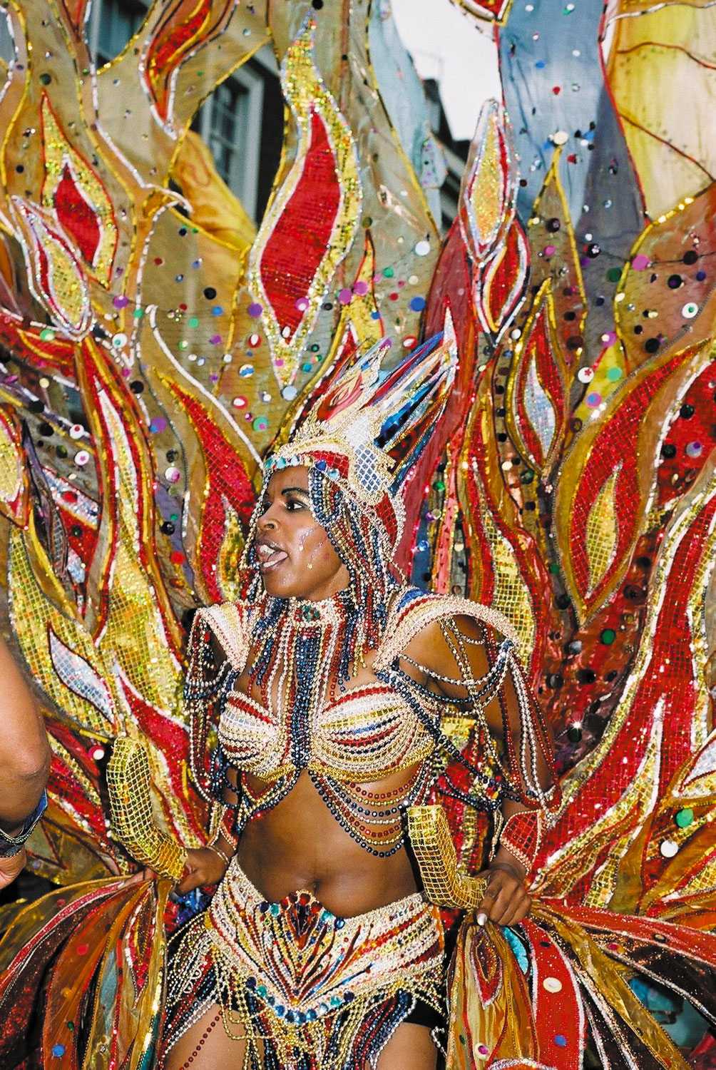 Carnival Monday. Photograph by Stephen Sparks
