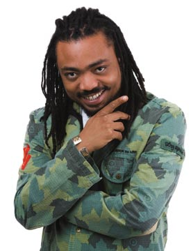 Machel Montano. Photograph by Mark Lyndersay