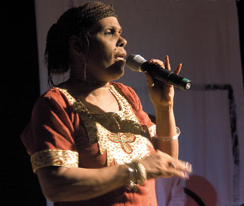 Matriarch Claudette Blackman. Photograph by Mark Lyndersay