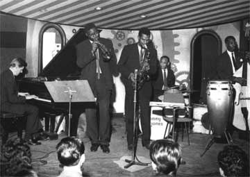 The Joe Harriott Quintet in 1960 playing a gig at London's Marquee Club