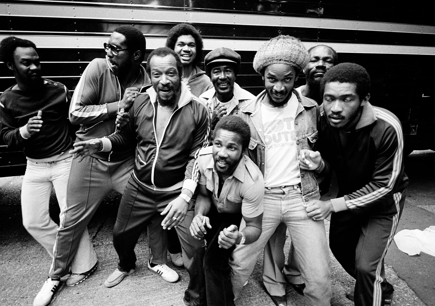 Toots Hibbert and the Maytals, 1981. Photograph by Urbanimage.tv