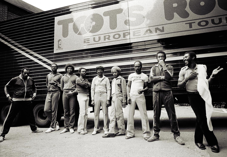 On tour, 1981. Photograph by Urbanimage.tv