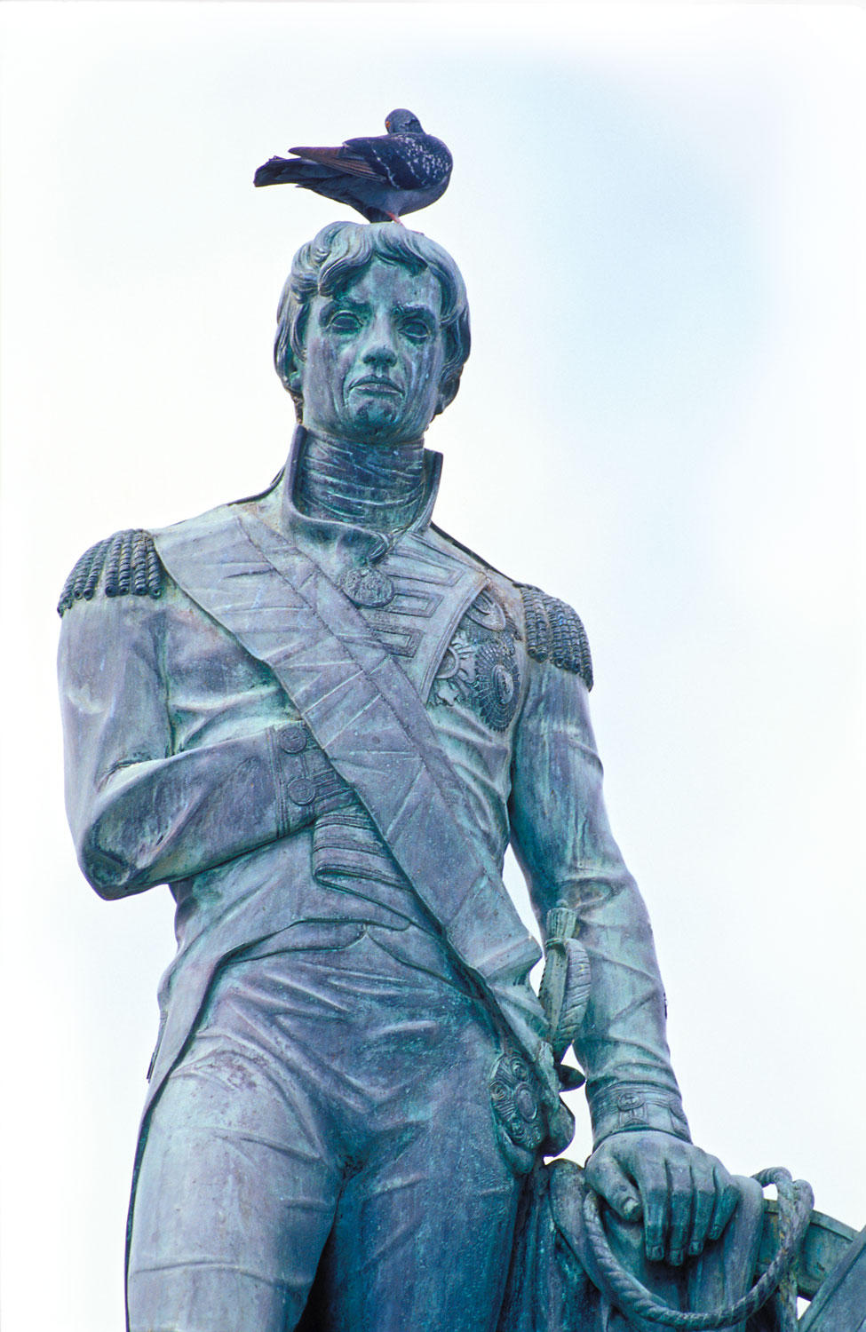 Lord Nelson, Vice-Admiral of Britain's Royal Navy. Photograph courtesy Mike Toy