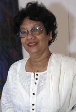 Guyanese artist Bernadette Persaud