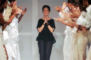 Trinidadian fashion designer Meiling