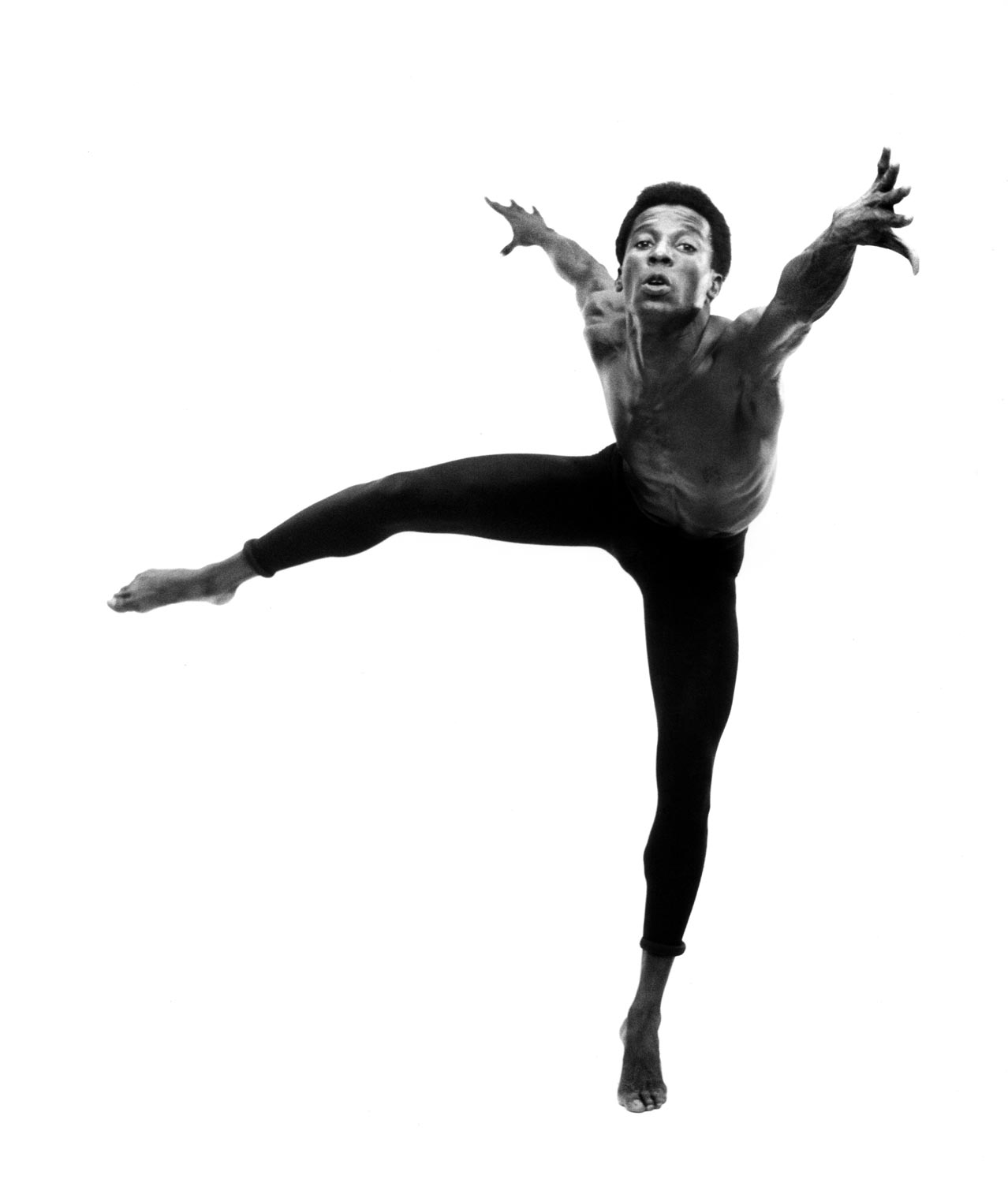 Rex Nettleford in 1965. Photograph by Maria LaYacona