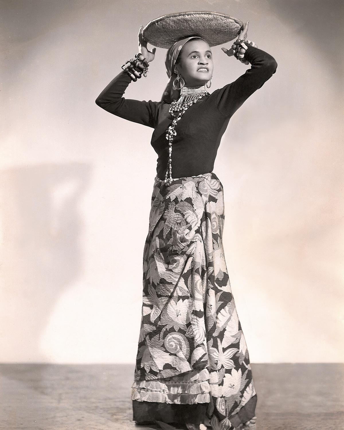 Beryl McBurnie, in the days when she used the stage name of La Belle Rosette. Photograph courtesy the Ray Funk Collection