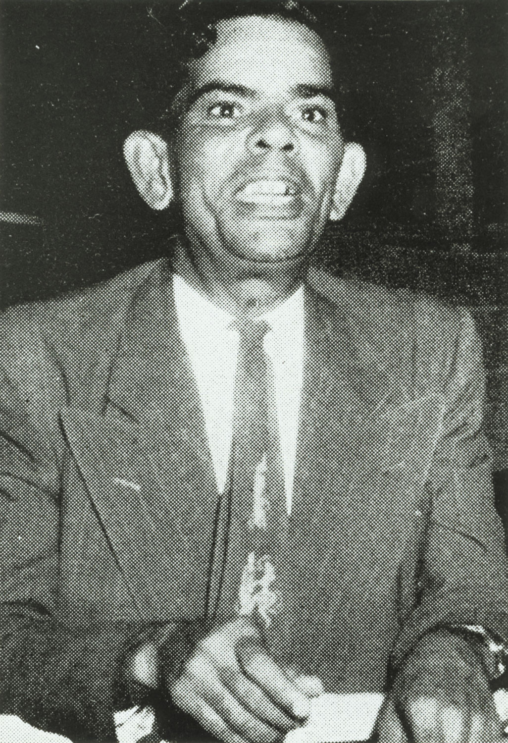 Atilla was also the deputy mayor of Port of Spain. Photograph courtesy Donald Hill