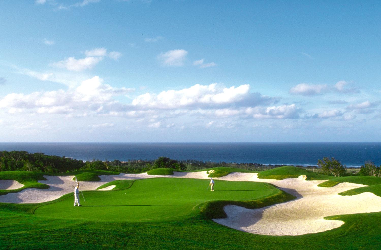 White Witch golf course. Photograph courtesy Ritz Carlton, Jamaica