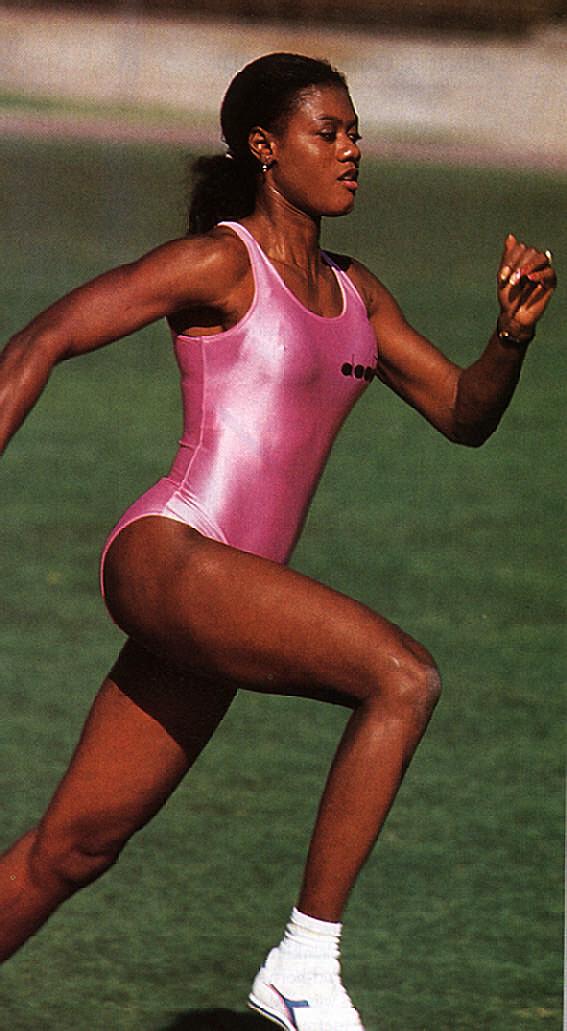 Jamaican sprinter & Olympic bronze medallist Merlene Ottey