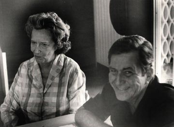 Greta Burke and Henry Fowler. Photograph courtesy the Little Theatre Movement
