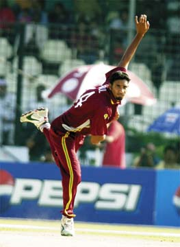 Ravi Rampaul. Photograph from Getty Images
