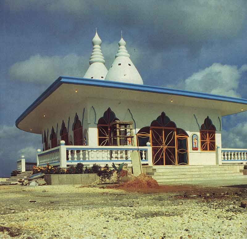 Renovated and restored, the temple was re-opened at the end of last year. Photograph by Sean Drakes