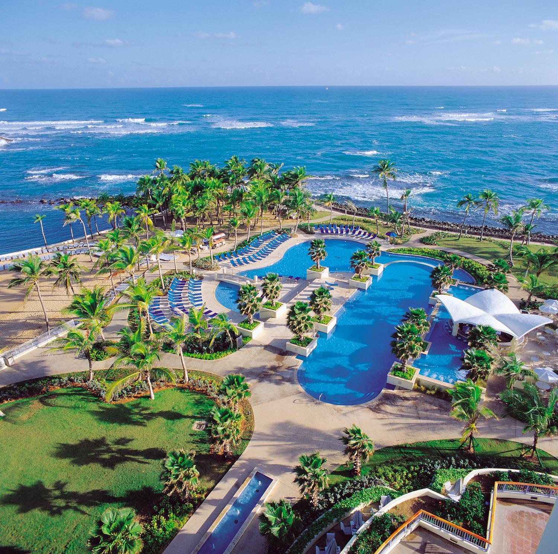 Caribe Hilton, San Juan, Puerto Rico. Photograph courtesy Hilton Caribbean